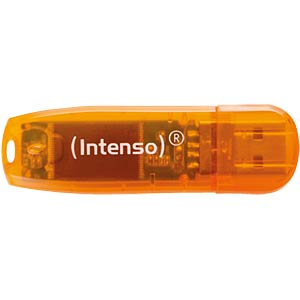 USB2.0-Stick 64GB Intenso Rainbow-Line INTENSO 3502490