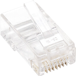 CAT5e Modularstecker, UTP, 3-Punkt, 100 Stk INTELLINET 502399