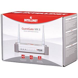 Wireless N GuestGate MK II HotSpot gateway IC INTRACOM Vertriebs INTELLINET 524827