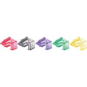 RJ45-Reparaturclips, verschiedene Farben, 50 Stk INTELLINET 771450