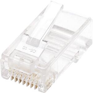 CAT5e Modularstecker, UTP, 2-Punkt, 100 Stk INTELLINET 790055