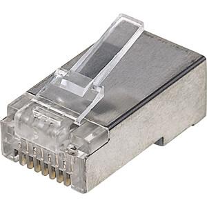 CAT5e Modularstecker Pro Line, 3-Punkt, 100 Stk INTELLINET 790529