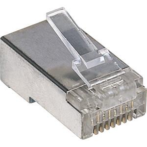 CAT5e Modularstecker, STP, 3-Punkt, 100 Stk INTELLINET 790574