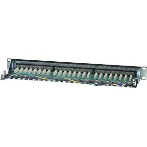 "48cm (19"") Patchpanel, Cat. 6, 24 Port INTELLINET 720038"