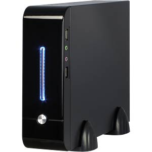 Mini-ITX desktop E-2011, black, 60 W, external INTER-TECH 88881142