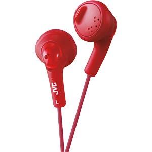 JVC HA-F160-R - Gummierter In-Ear Kopfhörer