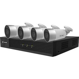 Netzwerk-Videorekorder, Set inkl. 4 Kameras JOVISION SET 850