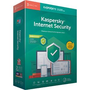 Software, Internet Security 2019, 3 Lizenzen KASPERSKY KL1939G5CFS-9