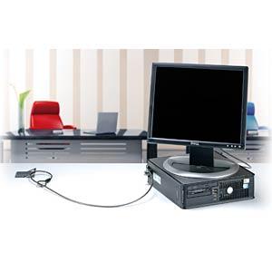 Laptopschloss, Tisch, Verankerungspunkt KENSINGTON K64613WW