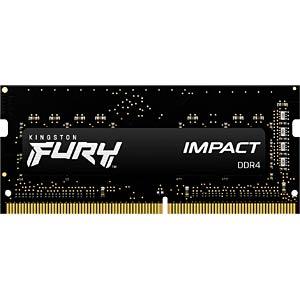 40KI0826-1015FI - 8 GB SO DDR4 2666 CL15 Kingston FURY Impact