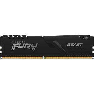 40KI0426-1016FB - 4 GB DDR4 2666 CL16 Kingston FURY Beast Black