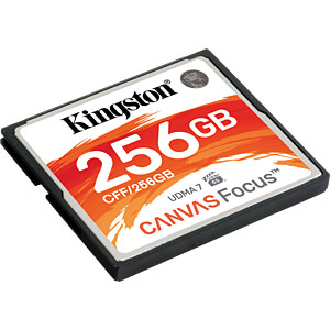 CF-Speicherkarte 256GB, Canvas Focus KINGSTON