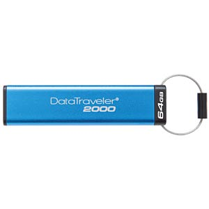 USB 3.0-Stick 64GB DataTraveller 2000 KINGSTON DT2000/64GB