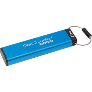 USB Stick, USB 3.0, 8 GB, DataTraveler 2000 KINGSTON DT2000/8GB