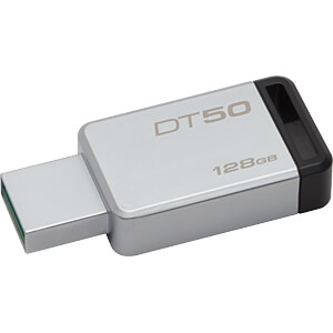 USB 3.0-Stick 128GB DataTraveler 50 KINGSTON DT50/128GB