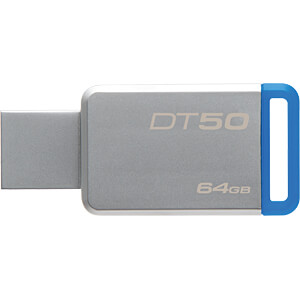 USB-Stick, USB 3.0, 64 GB, DataTraveler 50 KINGSTON DT50/64GB