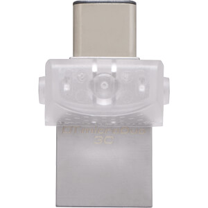 USB 3.0-Stick 128GB DataTraveler microDuo 3C KINGSTON DTDUO3C/128GB