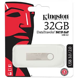 USB 3.0-Stick 32GB DataTraveler SE9 G2 KINGSTON DTSE9G2/32GB
