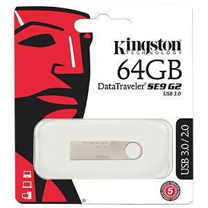 USB3.0-Stick 64GB DataTraveler SE9 G2 KINGSTON DTSE9G2/64GB