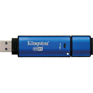 USB-stick, USB 3.0, 4 GB, DataTraveler Vault Privacy AV KINGSTON DTVP30AV/4GB