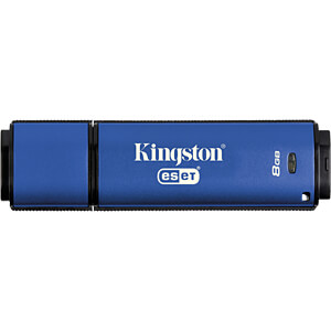 USB Stick, USB 3.0, 8 GB, DataTraveler Vault Privacy AV KINGSTON DTVP30AV/8GB