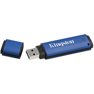 USB-Stick, USB 3.0, 8 GB, DataTraveller Vault Privacy 3.0 KINGSTON DTVP30DM/8GB