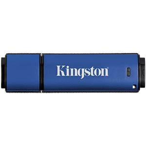USB3.0-Stick 64GB DataTraveller Vault Privacy 3.0 KINGSTON DTVP30DM/64GB