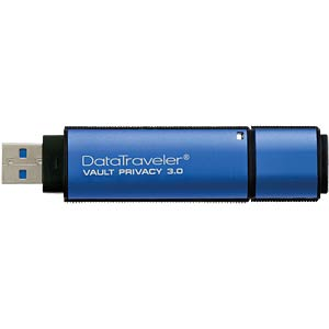 USB-Stick, USB 3.0, 16 GB, DataTraveler Vault PE KINGSTON DTVP30/16GB