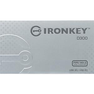 USB Stick, USB 3.0, 4 GB, IronKey D300 Managed KINGSTON IKD300M/4GB