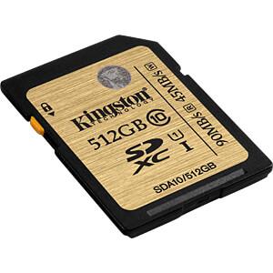 SDXC-Speicherkarte 512GB, Kingston Class 10 KINGSTON SDA10/512GB