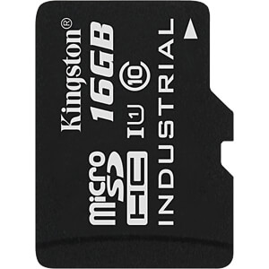 MicroSDHC-Card 16GB - Kingston Industrial Temperature KINGSTON SDCIT/16GBSP
