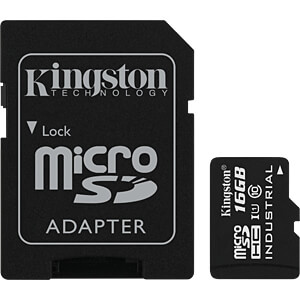 MicroSDHC-Speicherkarte 16GB - Kingston Industrial Temperature KINGSTON SDCIT/16GB