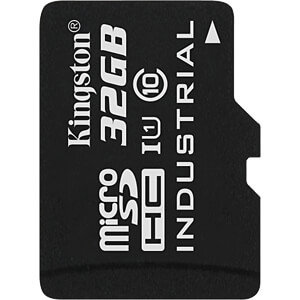 MicroSDHC-Card 32GB - Kingston Industrial Temperature KINGSTON SDCIT/32GBSP