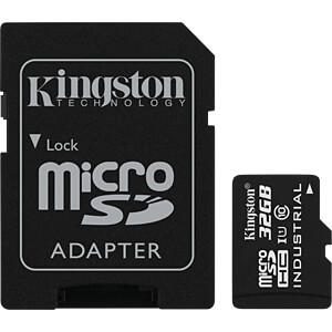 MicroSDHC-Speicherkarte 32GB - Kingston Industrial Temperature KINGSTON SDCIT/32GB