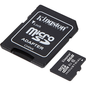 MicroSDHC-Speicherkarte 8GB - Kingston Industrial Temperature KINGSTON SDCIT/8GB