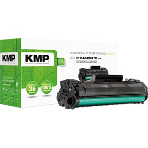 KMP 1229,5000 - Toner - HP - schwarz - 85A - rebuilt