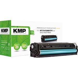 KMP 1236,0003 - Toner - HP - cyan - 131A - rebuilt