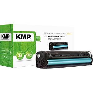 KMP 1236,0009 - Toner - HP - gelb - 131A - rebuilt