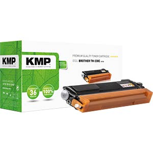 KMP 1242,0003 - Toner - Brother - cyan - TN-230C - rebuilt