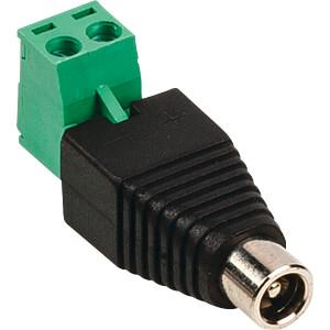 Videoüberwachungs-Stecker DC Cable Female KÖNIG SAS-PCF10