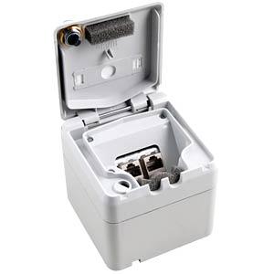 Aufputzgehäuse, IP44, 2-fach EFB-ELEKTRONIK ET-25023V2