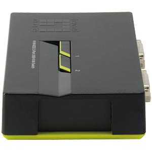 2-Port USB KVM-Switch LEVELONE KVM-0222