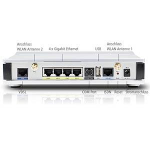 VPN-Router - VDSL/ADSL2+ Modem - WLAN LANCOM 62038