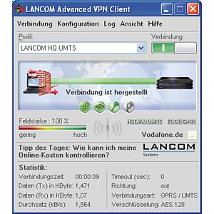 LANCOM Advanced VPN Client 1Lic WIN LANCOM LS61600