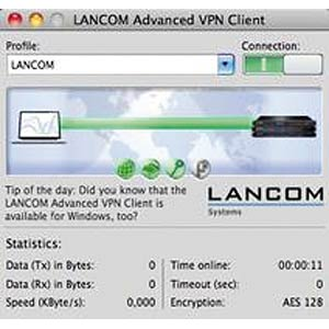 LANCOM Advanced VPN Client 1Lic MAC LANCOM 61606