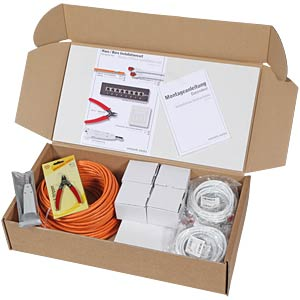 House/office Cat.6 installation set 02 - 50 metres EFB-ELEKTRONIK N10001.V1-50