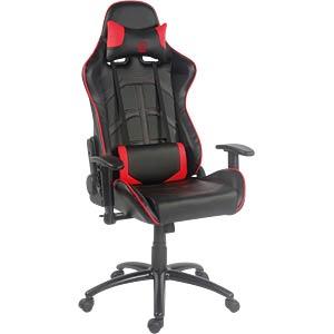 LC-GC-1 - LC-Power Gaming Stuhl GC-1 schwarz/rot