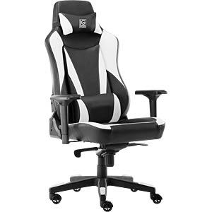 LC-GC-701BW - LC-Power Gaming Stuhl GC-701BW schwarz/weiß