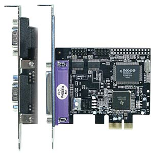 Longshine PCI Express X1 - 2 x serial, 1 x parallel LONGSHINE LCS-6322M
