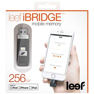 USB2.0-Stick 256GB mit Lightning Anschluss LEEF LIB000KK256E6